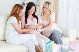 беременная подруга