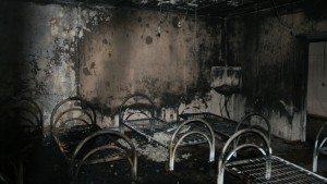 последствие пожара