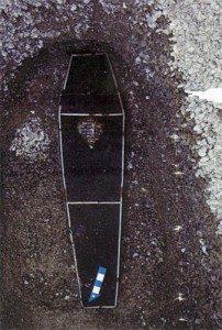 черный гроб