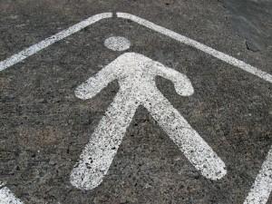 знак пешеход