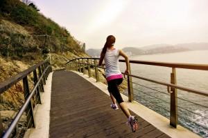 бег по мосту