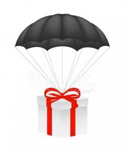 черный парашют