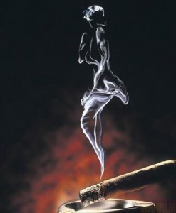 дым от сигареты