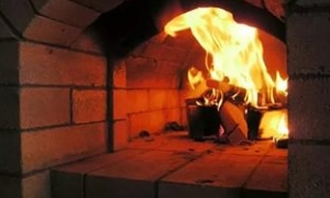 растопленная печка