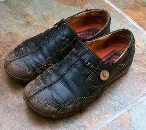грязные туфли фото
