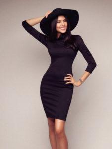 К чему сниться примерять черное платье