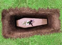 Гроб и могила