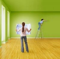 Покраска комнаты