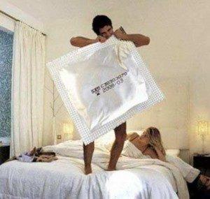 Огромный кондом
