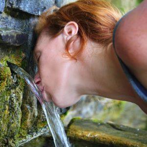 Вода из источника