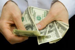 Заполучить крупные банкноты