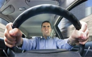 Создать аварию, будучи водителем
