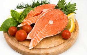 Красное рыбье мясо