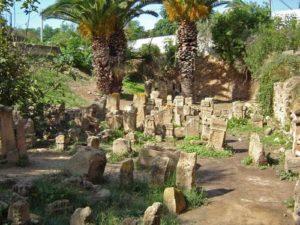 Древние места захоронений