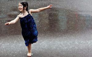 Гулять в ливень