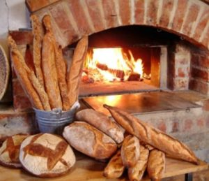 Хлеб из живого огня