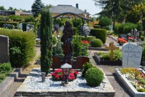 Ухоженные могилы