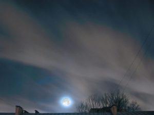 Небо в дымке