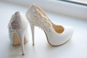 На высоких каблуках