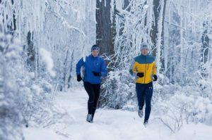 Бегать в мороз