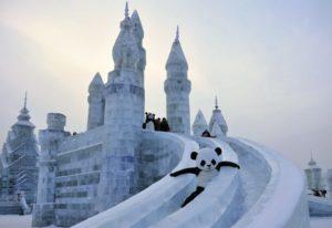 сонник снежная горка поднимаясь, скатываюсь вниз