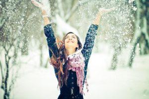 Ловить снежинки