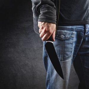 Задержанный с ножом