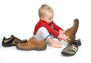 Потерять обувь
