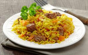 Рисовое блюдо