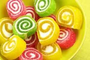 Разноцветные сладости