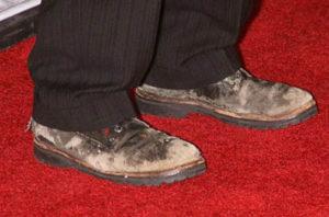 Стоптанные ботинки