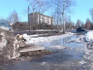 Ледяная лужа