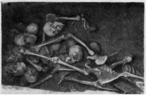Могила с костями