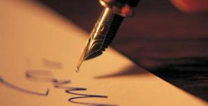 Написать на бумаге