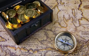 Найти сокровища