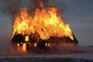 Пылающий дом