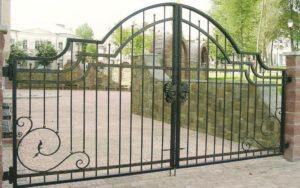 Парковые ворота