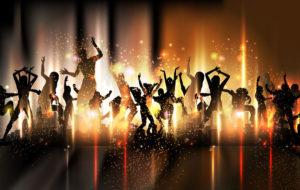 Веселье с танцами