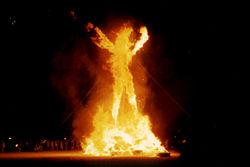 Объятая пламенем личность