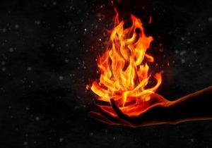 Пламя в руках
