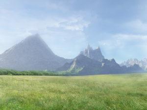 Гора за полем