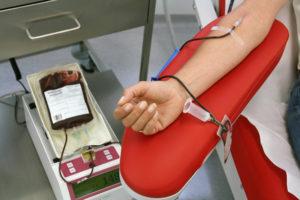 Сдавать кровь