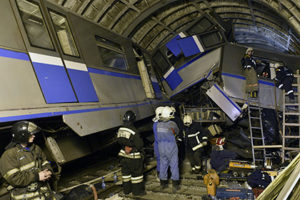 Авария в метро