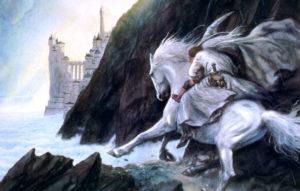 Белый наездник