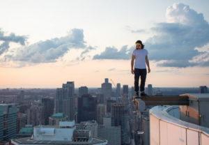 Быть на вершине здания