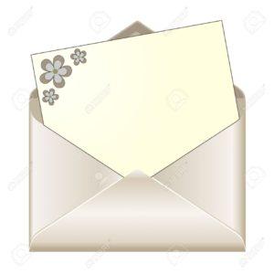 Раскрытый конвертик