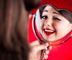 Видеть в зеркале