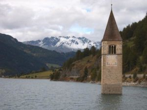 Затопленные деревни