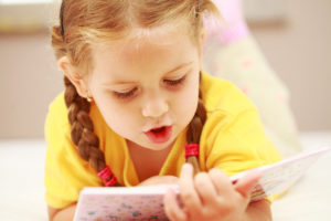 Чтение букваря