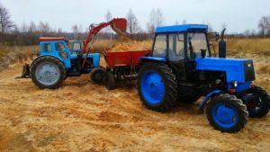 Машина для работ в поле